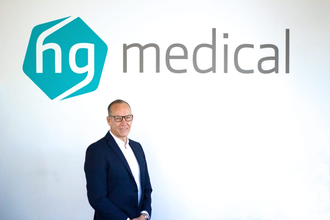 hg medical Geschaeftsfuehrer COO Craig Bluett Implantate Medizintechnik